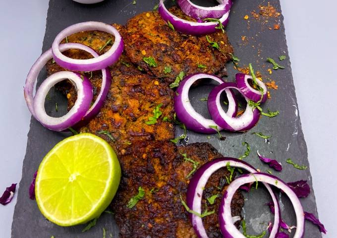 Chicken Chapli kebab #mycookbook