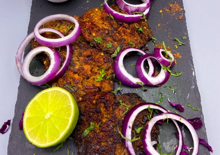 Chicken Chapli kebab #mycookbook
