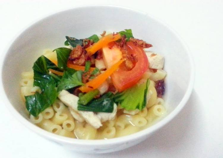 Recipe: Tasty macaroni soup