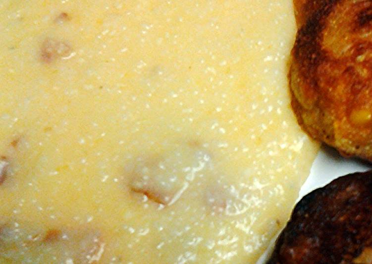Grits bacon and cheese