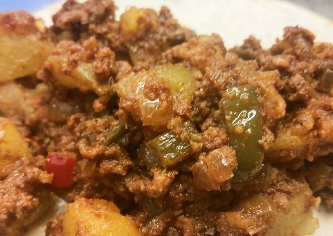 Chorizo & Potato Tacos