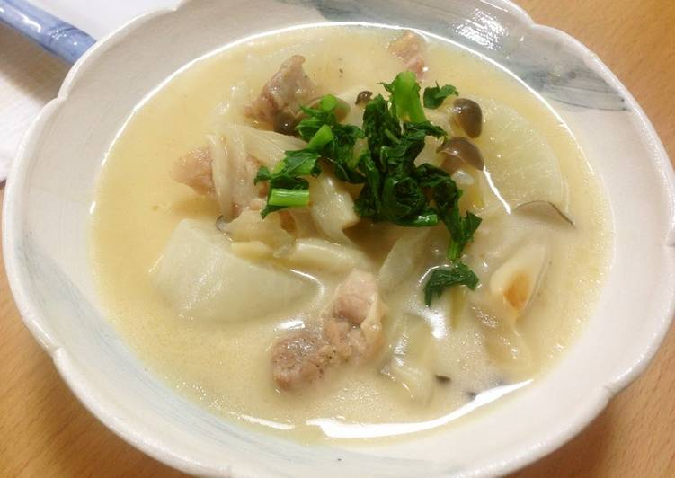 Easy and Delicious Daikon Radish Stew - Laurie G Edwards