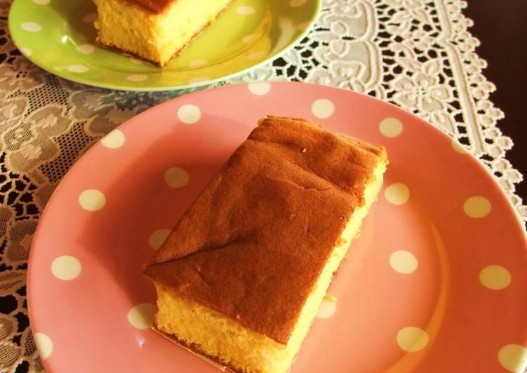 Recipe of Ultimate Japanese Confectionary-style Honey Castella