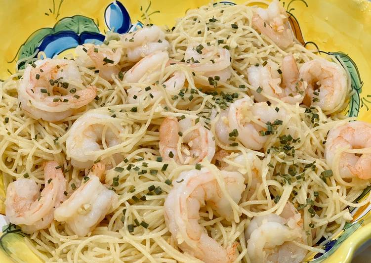 Simple Way to Prepare Perfect Shrimp scampi (alcohol free)