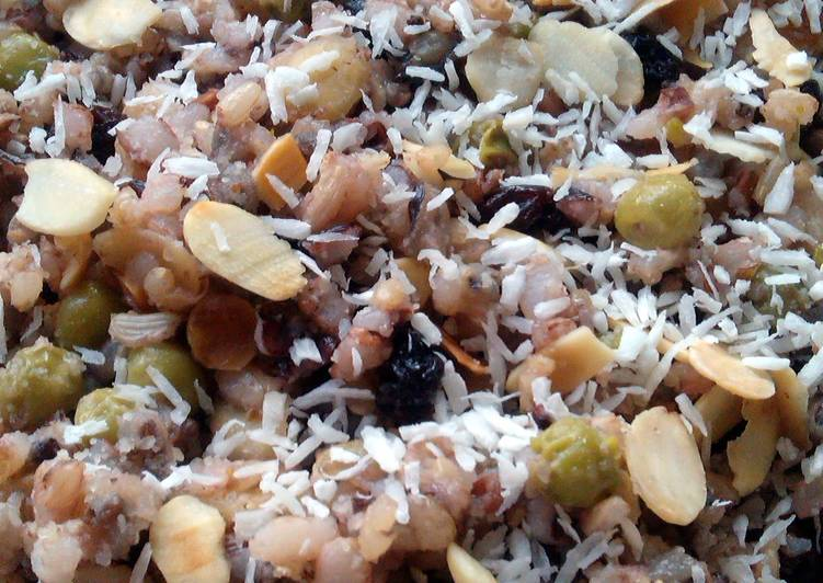 Simple Way to Prepare Award-winning Vickys Sweet Wild Rice, GF DF EF SF