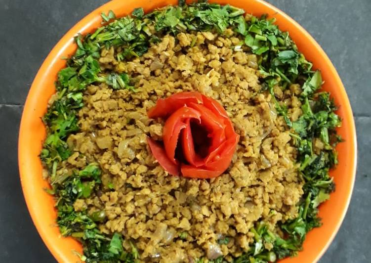 Recipe of Any-night-of-the-week Soyabean Sabzi