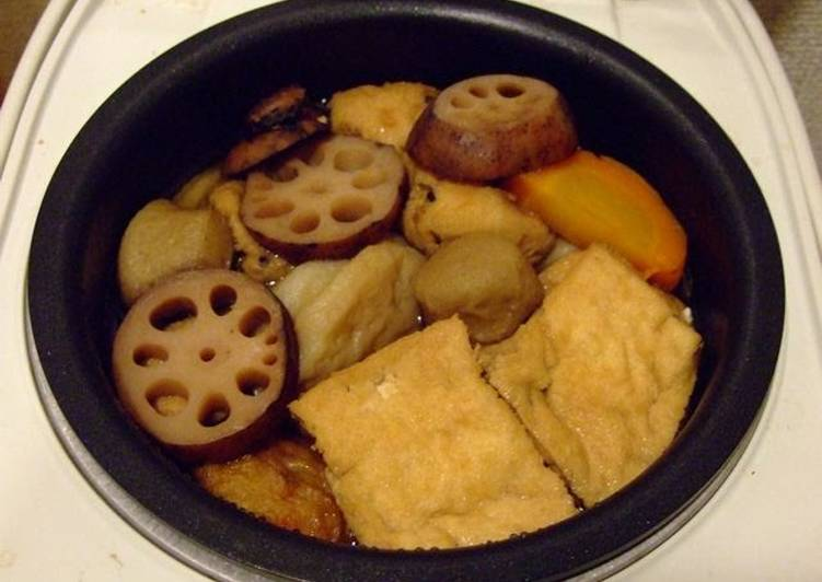 Top 10 Dinner Easy Love Macrobiotic Oden Made Simple with a Rice Cooker