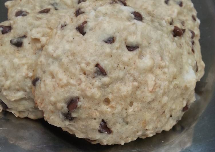Oatmeal/ chocolate chips cookies