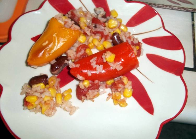 Easiest Way to Make Tasty Kid Approved Stuffed Peppers