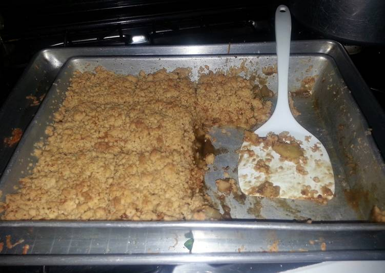 Steps to Make Ultimate Apple Crisp