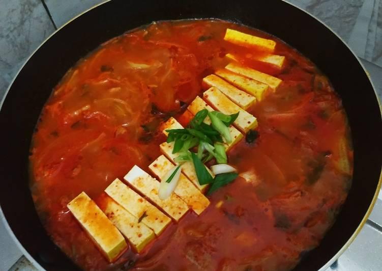 Kimchi Jjigae Korean Stew