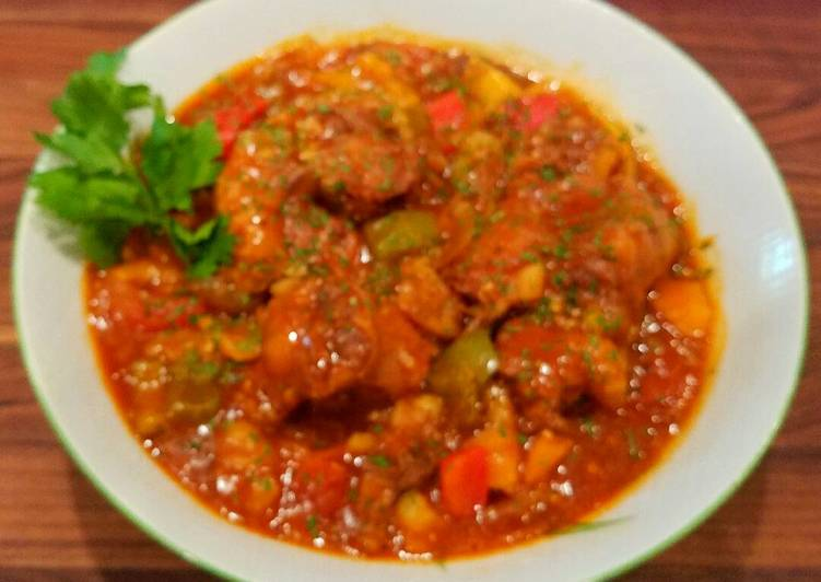 Mike's Oxtail Pepper Stew