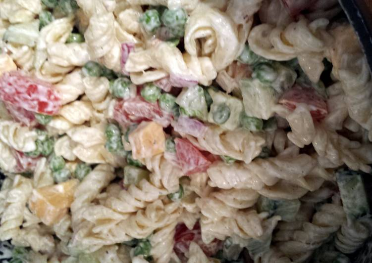 Recipe: Tasty Mimi's Creamy Pasta Salad