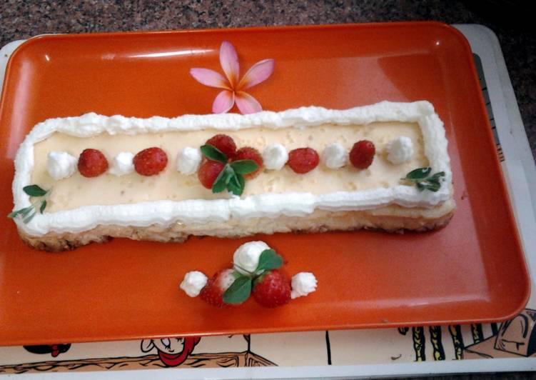 Ladybirds Baked Cottage Cheese Cake