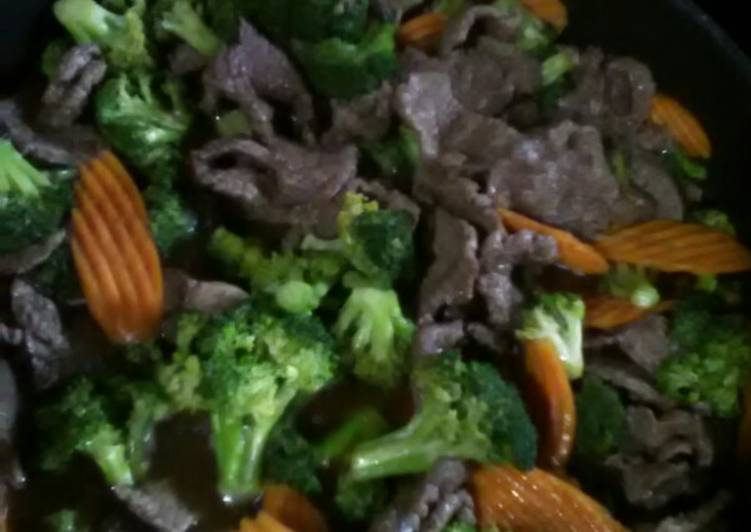Easiest Way to Make Super Quick Homemade Beef and Broccoli