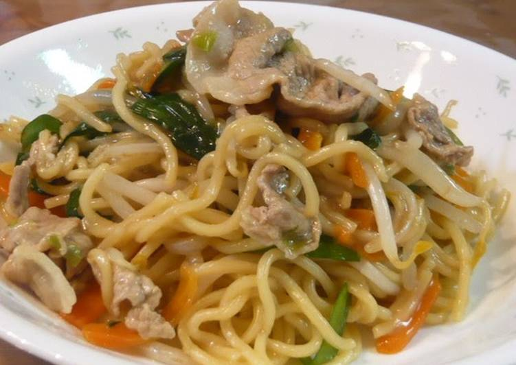 The Best Soft and Chewy Dinner Easy Quick Taiwanese-style Yakisoba Noodles