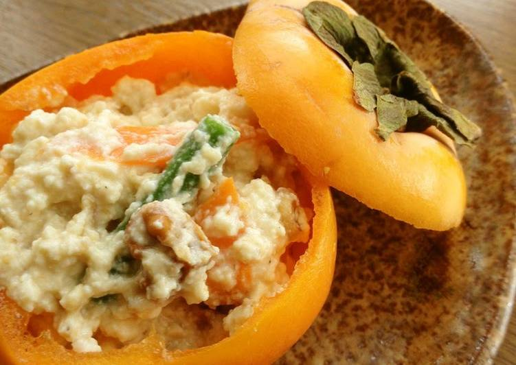 Recipe of Speedy Restaurant-Style Persimmon Shira-ae
