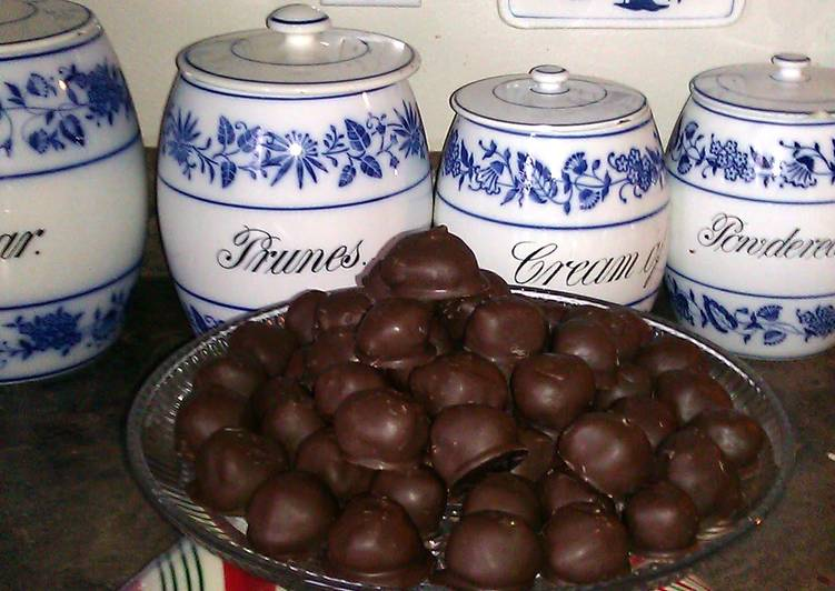 Grandma's peanut butter balls
