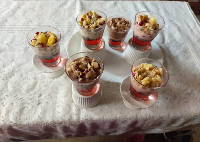 Recipe of Speedy Fruit creamy yummy healthy Desert / all children's favorite
