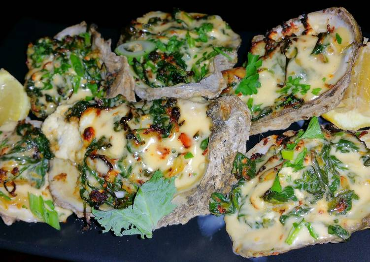 Try Using Food to Improve Your Mood Mike's EZ Pappadeaux Grilled Oysters