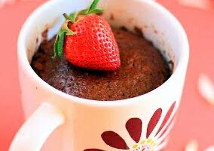 Instant chocolate cake in a mug :)