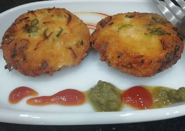 Rice cutlets - Laurie G Edwards