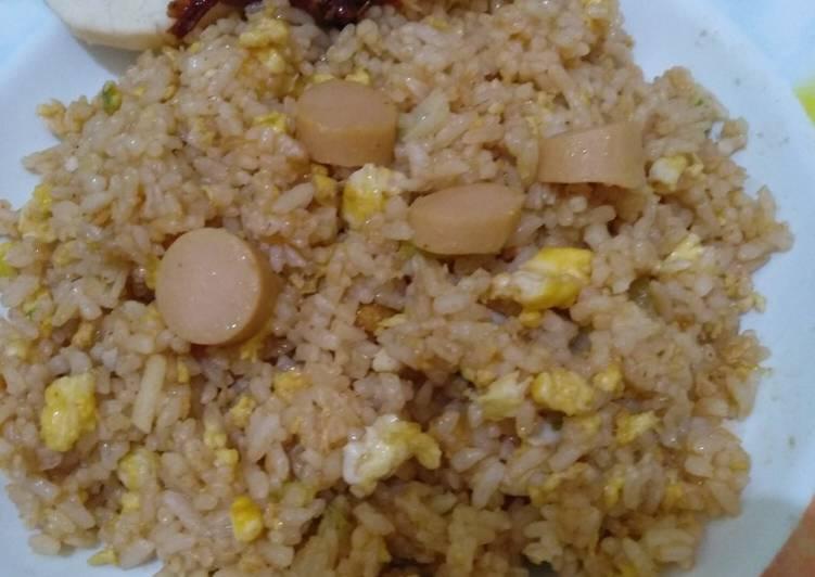 Resep Nasi goreng instan ala anak kos Paling dicari