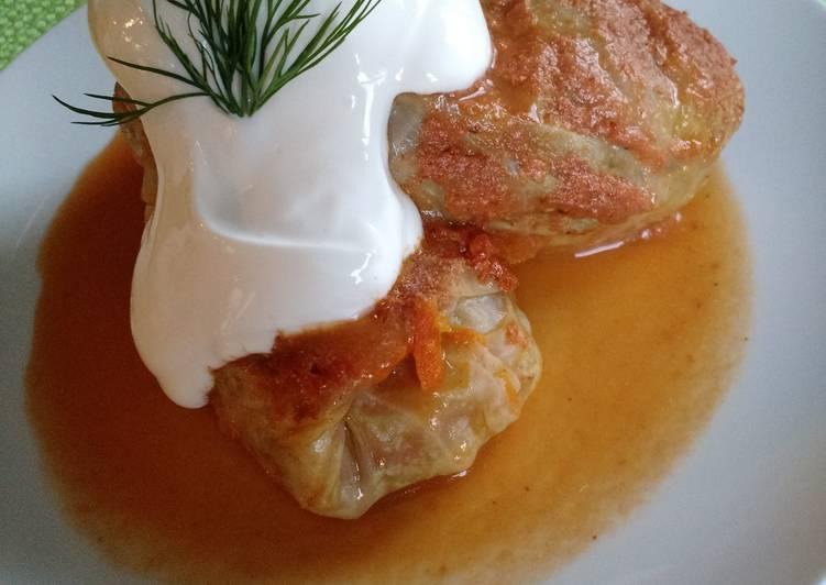 Recipe of Ultimate Голубцы - Vegetarian Cabbage Rolls
