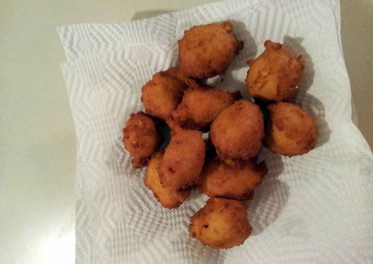 Recipe of Favorite The Old Mill's corn fritters