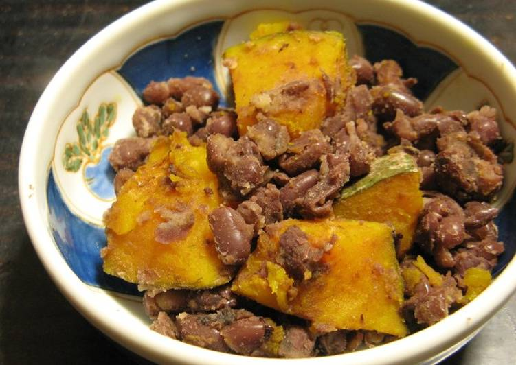 Easy Homemade Macrobiotic Adzuki Beans & Kabocha Squash Recipe