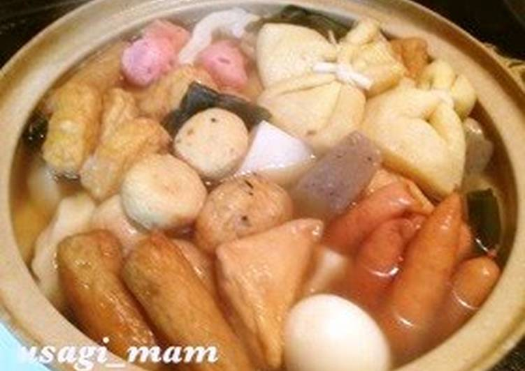 My Family S Oden Recipe Recipe By Cookpad Japan Cookpad