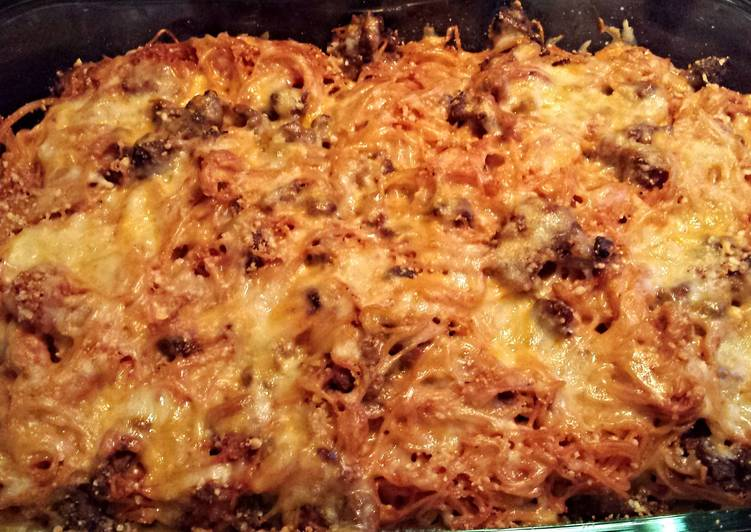 Step-by-Step Guide to Make Super Quick Homemade Easy Spaghetti Bake