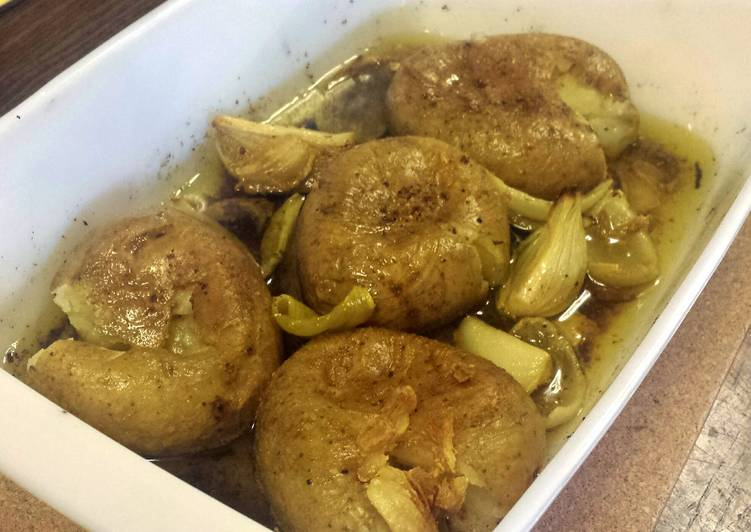 Step-by-Step Guide to Prepare Super Quick Homemade Squashed Potatoes in Olive Oil