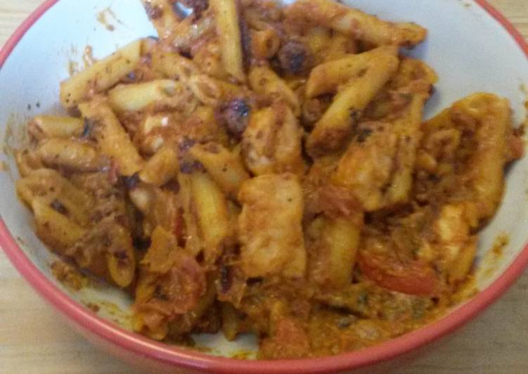 Easiest Way to Prepare Ultimate Chargrilled Chicken Pasta