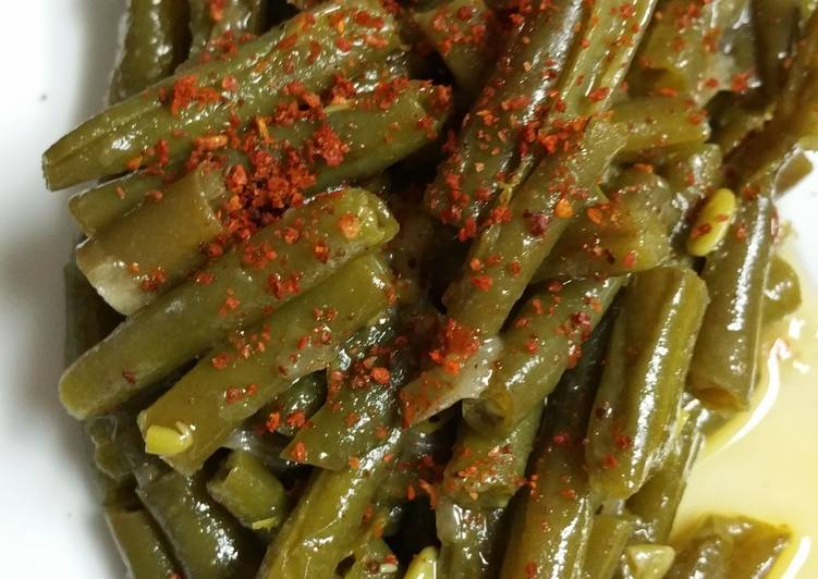 Step-by-Step Guide to Make Most Popular Green beans with olive oil