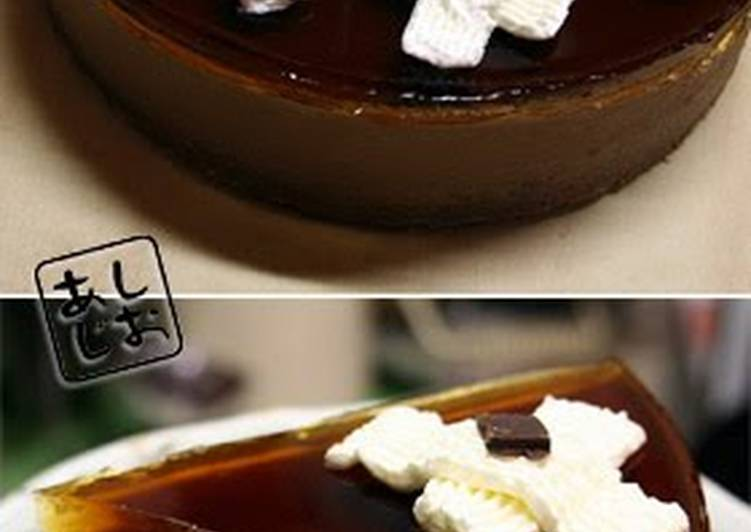 Simple Way to Prepare Favorite Chocolate Mousse and Jello Cake