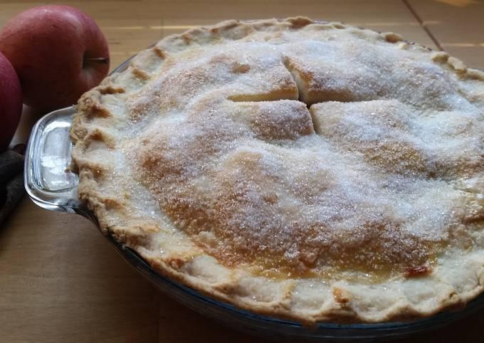 Crunchy Crush Apple Pie..😊