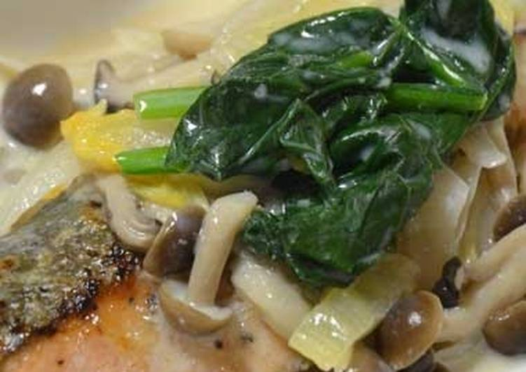 Deciding On The Best Foods Can Help You Stay Fit And Healthy Salmon in Soy Milk Cream Sauce