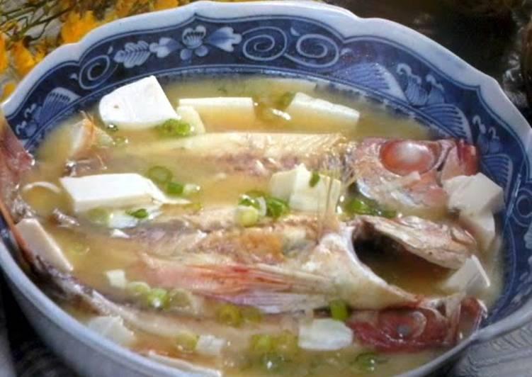 Red-Eye Chub Miso Soup, Here Are Several Simple Reasons Why Consuming Apples Is Good