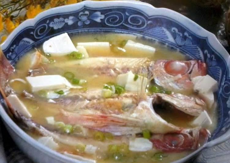 Red-Eye Chub Miso Soup