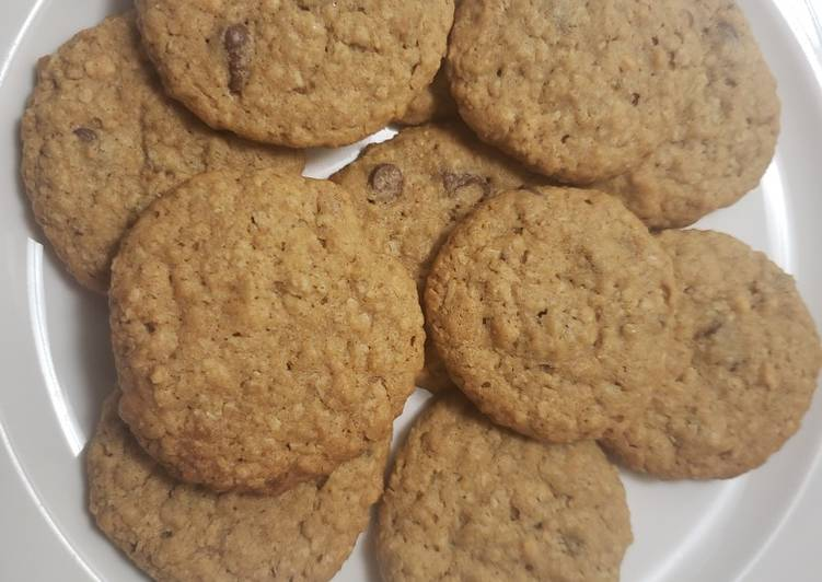 30 Minute Step-by-Step Guide to Prepare Royal Peanut butter oatmeal chip cookies