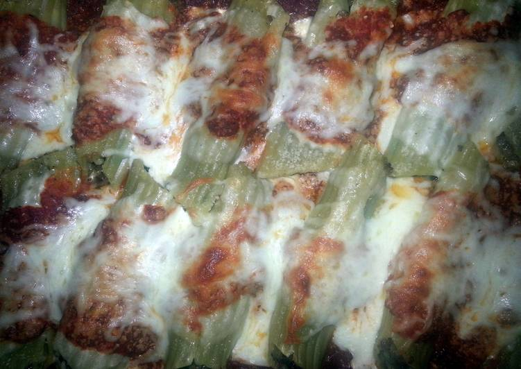 Easiest Way to Make Homemade Italian sausage stuffed manicotti