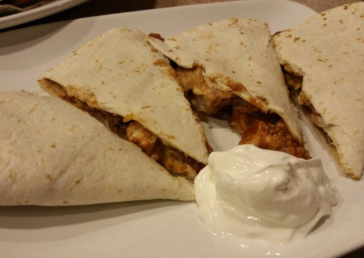How to Improve Your Mood with Food BBQ Chicken Quesadilla