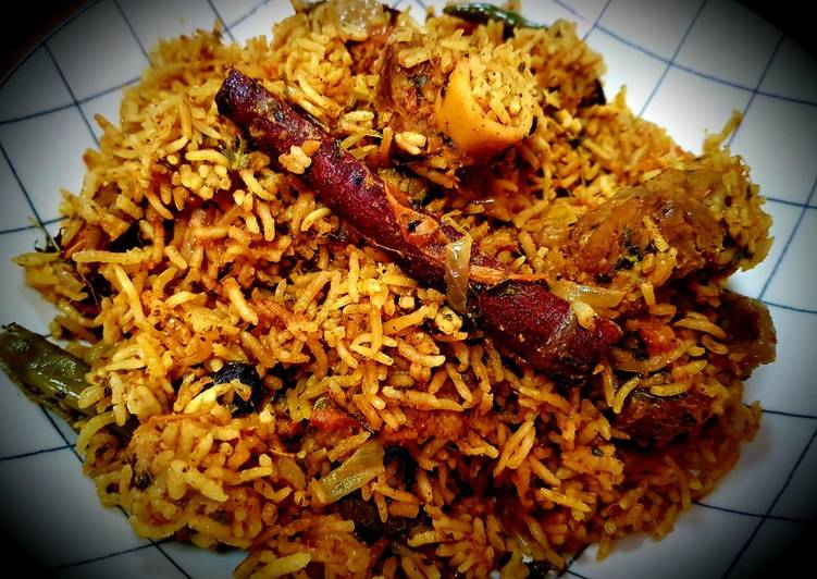 "How to prepare Madhurai Special ""Mutton Biryani"""