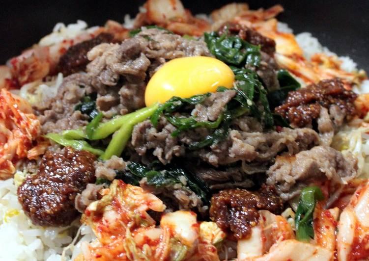 Steps to Prepare Award-winning Stone-Cooked Style Bulgogi and Bibimbap