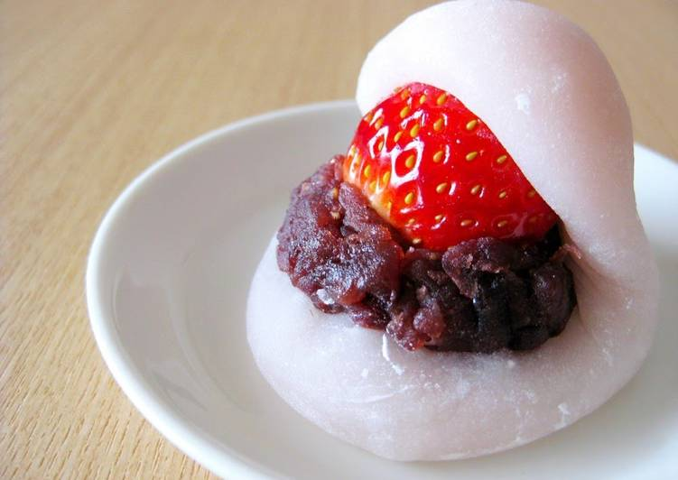 Steps to Prepare Ultimate Mini Strawberry Daifuku