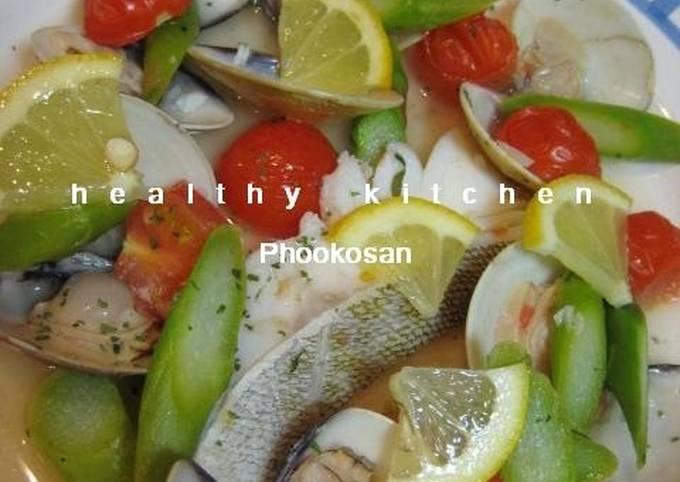 Easy Cod and Hamaguri Clam Acqua Pazza