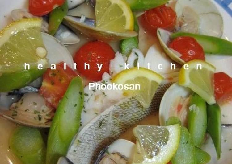 How to Make Perfect Easy Cod and Hamaguri Clam Acqua Pazza