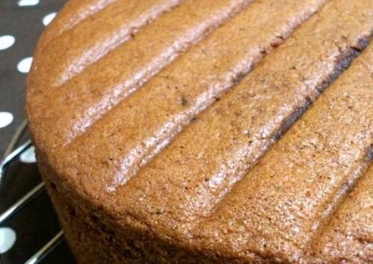 Easiest Way to Prepare Super Quick Homemade Foolproof Fluffy Cocoa Sponge Cake