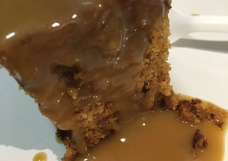 Sticky Date Pudding with Caramel Sauce